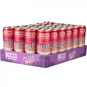 Nocco Miami Strawberry BCAA 330ml x 24