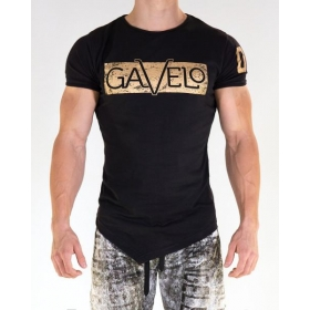 GAVELO Sports Tee BLACK - MEN