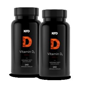2x KFD Vitamin D3 - 2000iu (480kaps)