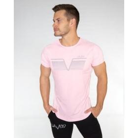 GAVELO Sports Tee Steel Pink