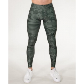 GAVELO Sniper Camo Green Compression Pants