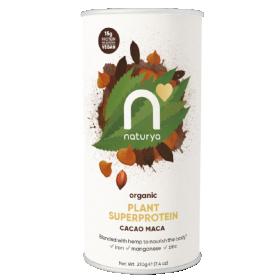 Naturya Organic Plant SuperProtein- Cacao Maca 210g