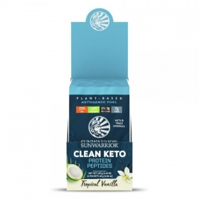 Sunwarrior Clean Keto Protein Peptides TESTER 48g