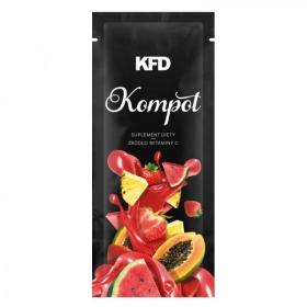 KFD kompot STRAWBERRY (7,5g)