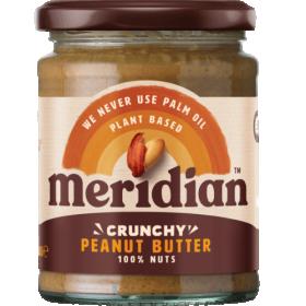 Meridian Foods peanut butter 280g- CRUNCHY