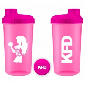KFD Shaker 700ml PINK- you can do it