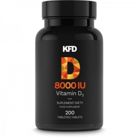 KFD Vitamin D3 - 8000iu (200tbl)