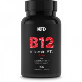 KFD B12 Forte vitamiin (100 tbl) (metüülkobalamiin, vegan)