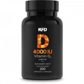 KFD Vitamin D3 - 4000iu (200 kapslit)
