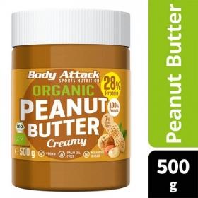 Body Attack Organic Peanut Butter 500g