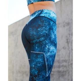 Gavelo Eclipse Blue leggings