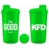 KFD sheiker 700ml NEON ROHELINE- Feel Good